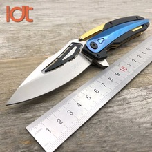LDT 0999 Folding Knife 7Cr18Mov Blade G10 Steel Handle Camping Outdoor Survival Knife Tactical Pocket Utility Knives EDC Tool