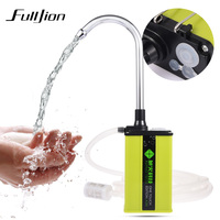 Fulljion Full Waterproof Charge Automatic Fishing Hand Washers Water Intake Device Water Absorber Pump Fishing Equipment