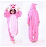 Wiki S Store New Designer Kawaii Pink Leopard Cosplay Customes Animal Onesie Unisex Adult Jumpsuit