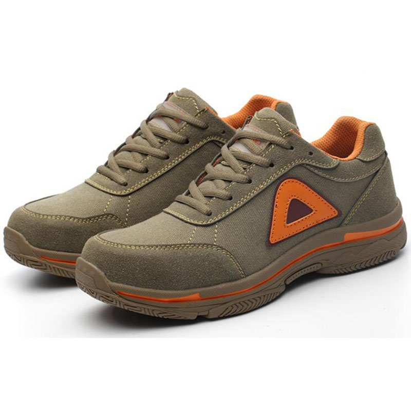 Men/'s Construction Breathable Working Safety Shoes Steel Toe Sole Boots Sneakers