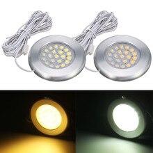 12V 3W RV LED Spot Light Wall Lamp Dome Lamps For Van Carava