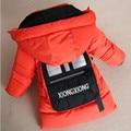 Boys Cartoon Thick Cotton-padded Coat 100% Cotton Kids Fashion Outerwear Warm Children Winter Garment