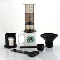 Portable Coffee Maker French Press Similar Aeropress Espresso Machine Reusable Coffee Filter 350 Filter Paper