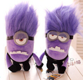 30 cm Despicable Me 2 Plush Stuffed Minion Evil, Purple High Quality Minions Gifts for Kids