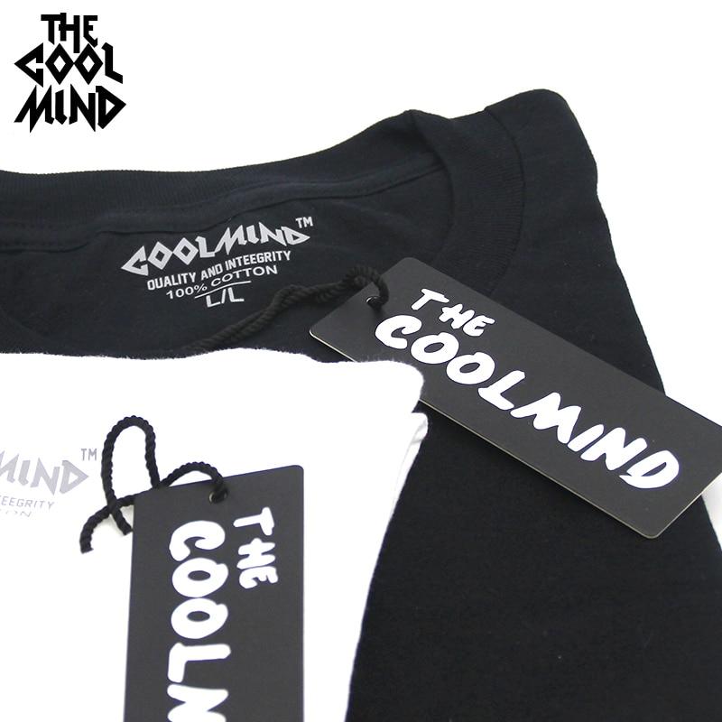 COOLMIND BU0111A 100% KATOEN o hals Bulldog print mannen t-shirt - Herenkleding - Foto 5