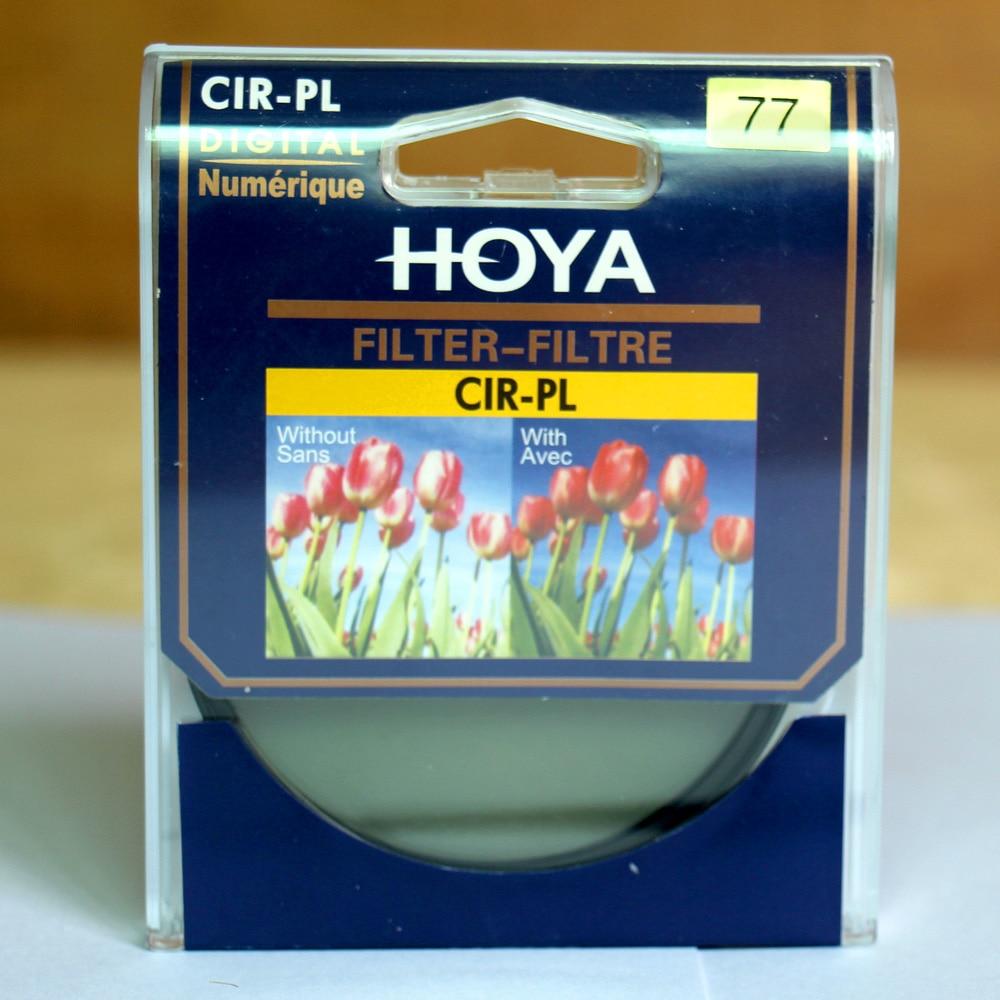 HOYA 77mm Ultra-sottile Fotocamera DSLR Filtro CPL CIR-PL Filtro Polarizzatore Circolare Slim
