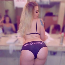 Yes Daddy Knickers For Women