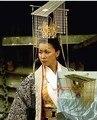 Calidad superior de china antigua emperatriz Tiaras del pelo femenino accesorio del traje de la película el imperio de gran Director Di Renjie