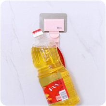 All Round Seamless Adhesive Wall Hook Durable Abs Environmentally Friendly Pollution-free Bathroom Kitchen Accessories