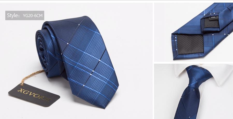 Men ties necktie Men's vestidos business wedding tie Male Dress legame gift gravata England Stripes JACQUARD WOVEN 6cm 23
