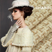 Senior Thickening Fashion Gold Thread 2013 Fashion Autumn And Winter Suit Jacket Wide Fabric Cloth
