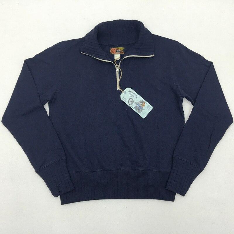 1930 50 motocykl Rider dzielnicy zamek sweter z golfem bluza z kapturem Moto klub Biker męska stałe bluza kurtka w stylu Vintage w Bluzy z kapturem i bluzy od Odzież męska na  Grupa 2