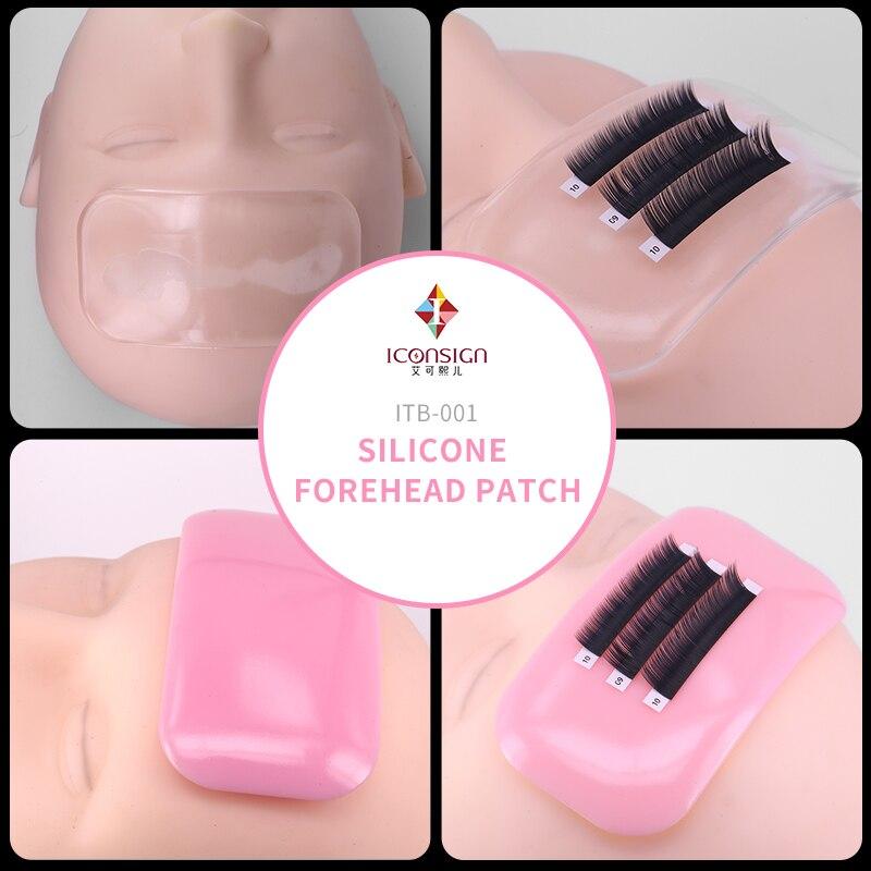 50 Pcs Wholesale Price Women Thick Holder Silicone Eyelash Pad Reusable Tray False Lashes Holder Pad Mat Eyelash Extensions Tool цена