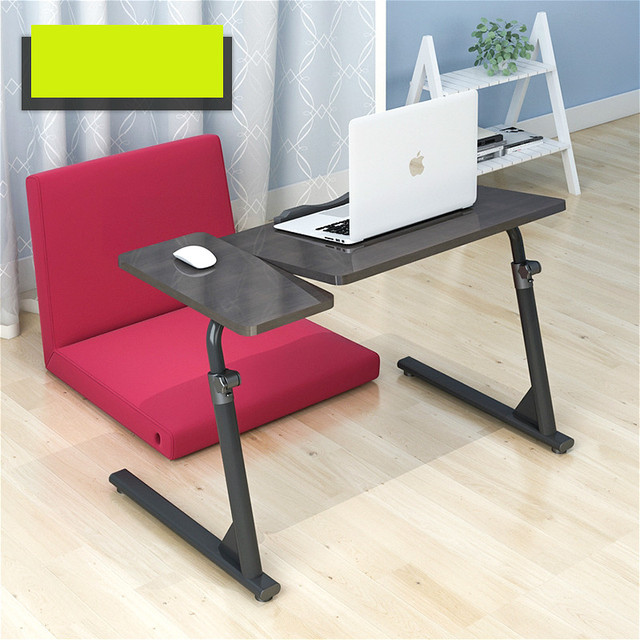 A Simple Bedside Wo Language Notebook Computer Desk Folding Lazy Table Bed Sofa Learning