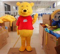 Winnie Bear mascot costume Cosplay Halloween Fancy Party Dress