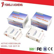 High quality 1 Channel Twisted Pair Active Balun Video transmitter utp transceiver
