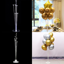 2 Sets 7/11 Tubes Balloons stand Ballons holder column Baby shower Adult kids birthday party decorations Wedding decor supplies