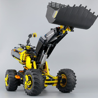 DECOOL Technic 3384 legoingly 42081 Volvo Concept Wheel Loader ZEUX Model Building Blocks Bricks Educational Toys for Children