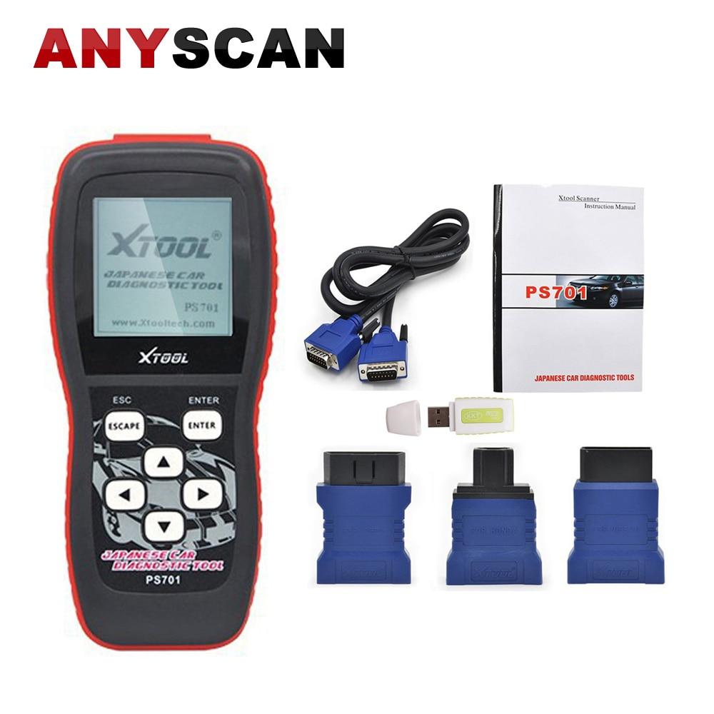 XTOOL PS701 outil de Diagnostic pour les voitures japonaises JOBD OBDII Scanner de Code pour Toyota pour Nissan pour MITSUBISHI lecteur de Code automobile