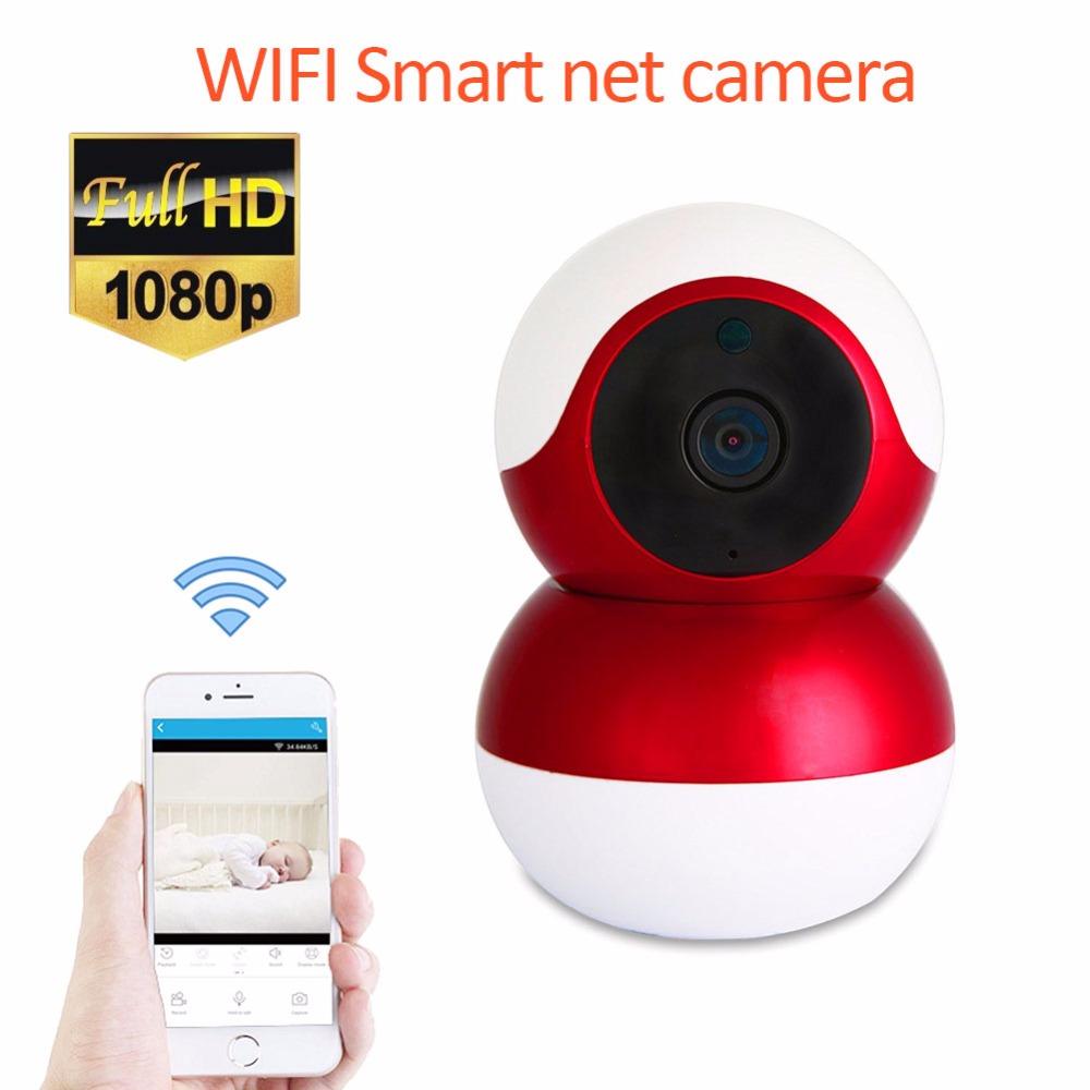 Mini IP Camera wi-fi 1080P Wireless Ptz P2P CCTV Network Camera Home Security SD Card Slot Baby Monitor Cute Surveillance Camera