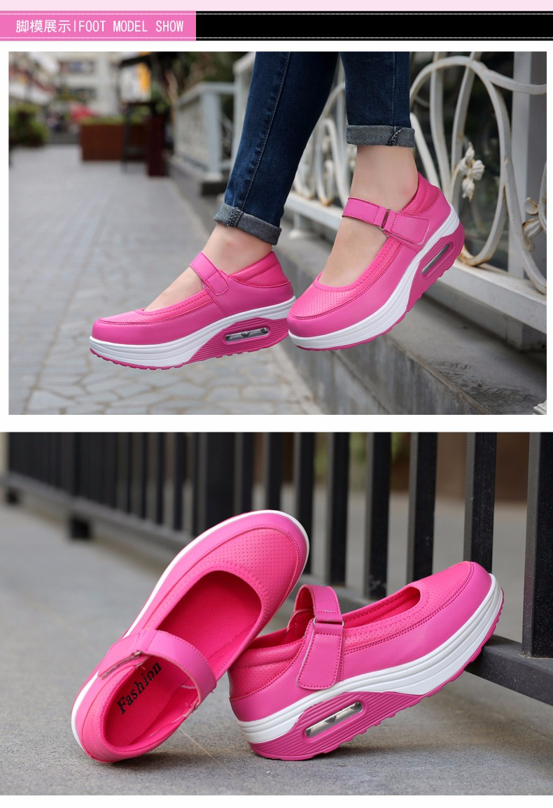 Mary Janes Style Women Casual Shoes Fashion Low Top Platform Shoes zapatillas deportivas mujer Breathable Women Trainers YD129 (10)