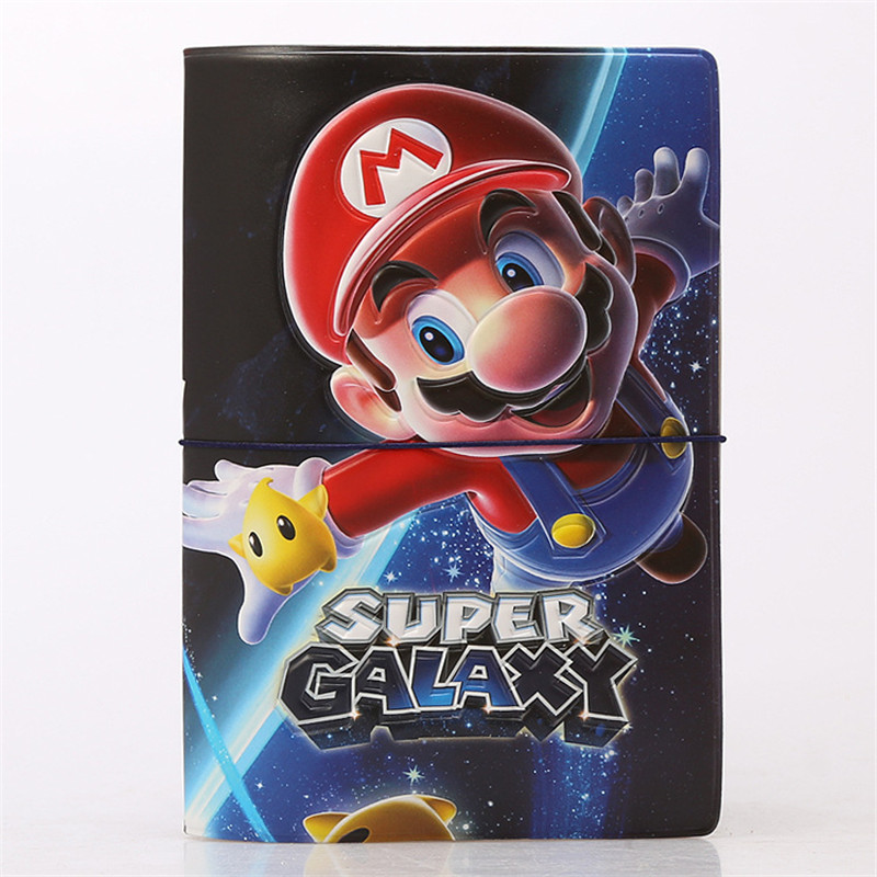 Super Mario Galaxy 3D Design Fashion Passport Holder Cover ID Package Travel Accessories Ticket Protective Case Gift