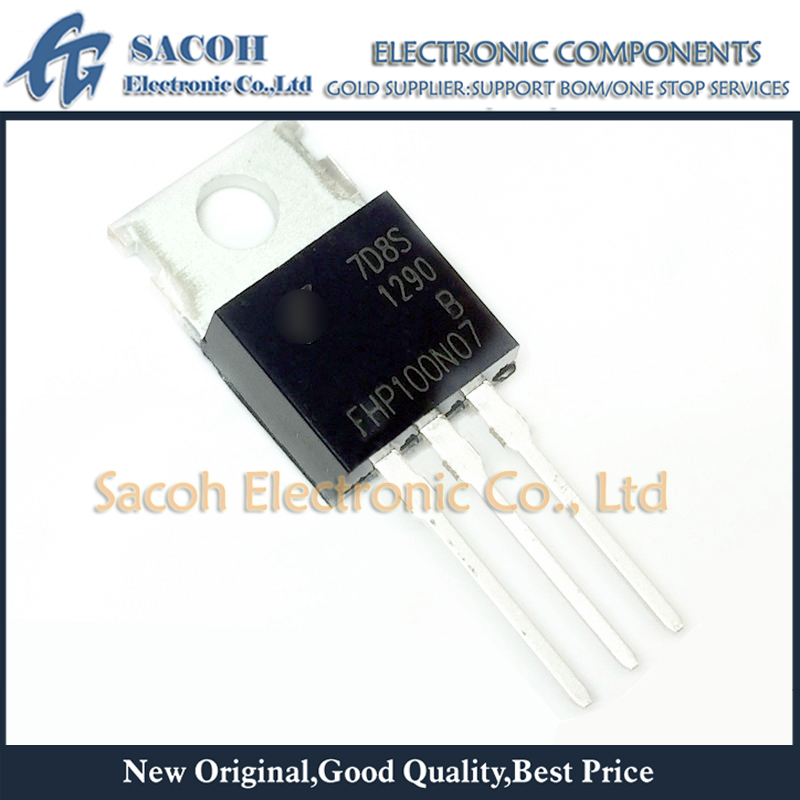 10 x FHP100N07 100N07 Transistor TO-220