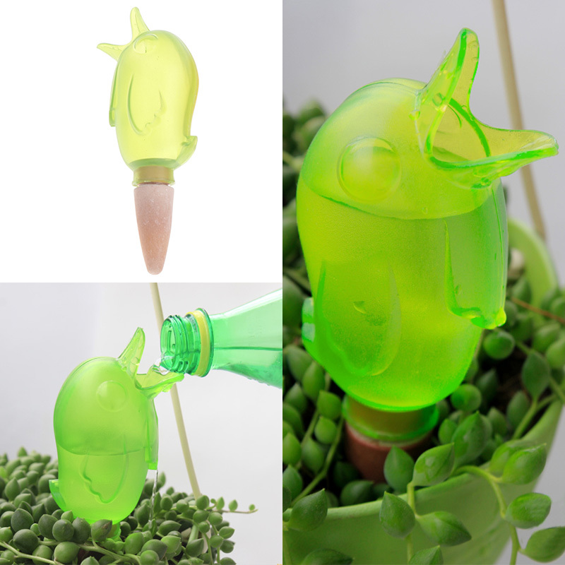 Cute Birds Shape Indoor Automatic Drip Watering System Houseplant Waterer  Garden Supplies #71734(China
