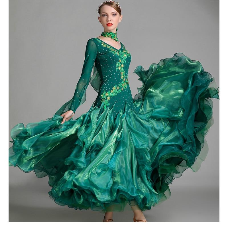 Modern Dans Jurk Dame Dansen Performance Suit Lange Mouwen Meisje - Nieuwe items