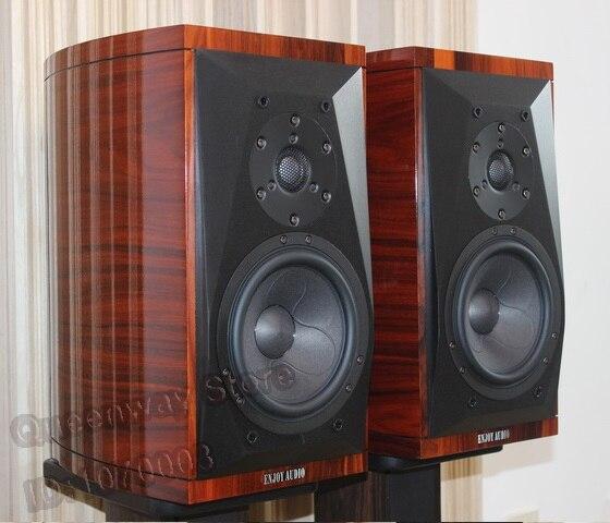 Gold 6S 6.5 inches Hi-End floor-standing speaker/loudspeaker Scan-Speak 6640/7140 tweeter+18WU/8741 midrange-bass DIY цена