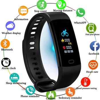 LIGE Smart Watch Men Smart Bracelet Heart Rate Monitor Bblood Pressure Fitness Tracker Pedometer Sport Waterproof  Smartwatch