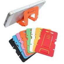 Портативный мини-держатель для мобильного телефона, Складная Настольная подставка, 3 градуса, регулируемая универсальная подставка для iPhone Andorid Phone