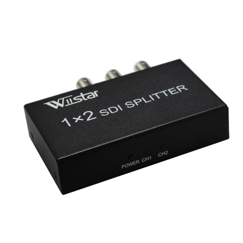 Prix pour Détail SDI Splitter 1x2 Multimédia Split SDI Extender 1 à 2 Ports Adaptateur Soutien 1080 P TV Vidéo Pour Projecteur Moniteur caméra