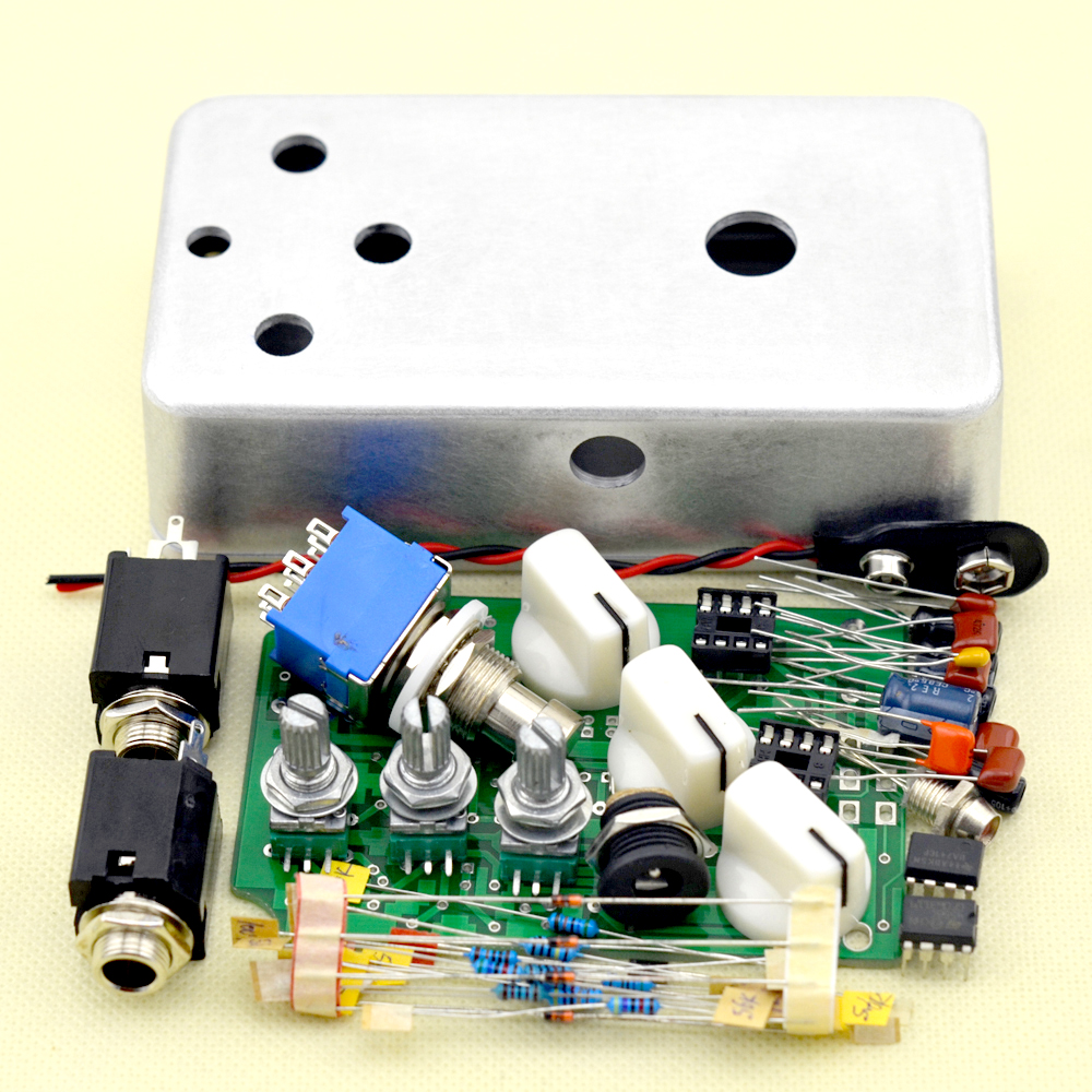 DIY Fuzz Pedal All Kits With 1590B Free Shipping image