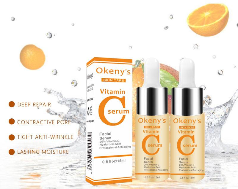 Image 5 - Vitamin C Serum VC Removing Dark Spot Freckle Ageless Original Liquid Serum Skin Care Whitening Face Anti Winkles Essence Beauty-in Serum from Beauty & Health
