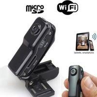 MD81S IP sieciowa kamera monitoringu bezprzewodowy WiFi mini kamera sieciowa rodziny bezpieczeństwa samochodu kamery z czytnikiem kart w Kamery nadzoru od Bezpieczeństwo i ochrona na