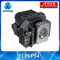 Replacement Projector Lamp ELPLP54 V13H010L54 For EX31 EX51 EX71 EB S7 EB X7 EB S72 EB