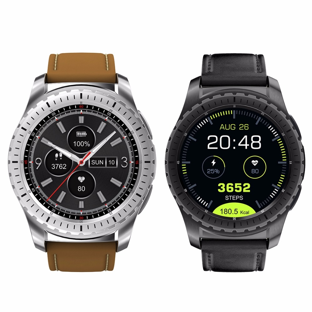 KW28 1.3 inch Screen Display Bluetooth Smart Watch, Support Pedometer / Heart Rate Monitor / Sleep Monitor / Sedentary Reminder