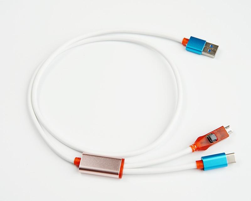 Oityn 2 dans 1 profonde flash câble pour Xiaomi mobile EDL câble USB Type C Câble pour tous les téléphones Qualcomm dans un Profond Flash Mode