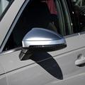Für Audi A4 A5 B9 Allroad Quattro S4 S5 Seite Flügel Spiegel Kappen Fit Audi Spiegel Abdeckungen Silber Matte Chrom-in Spiegel & Abdeckungen aus Kraftfahrzeuge und Motorräder bei
