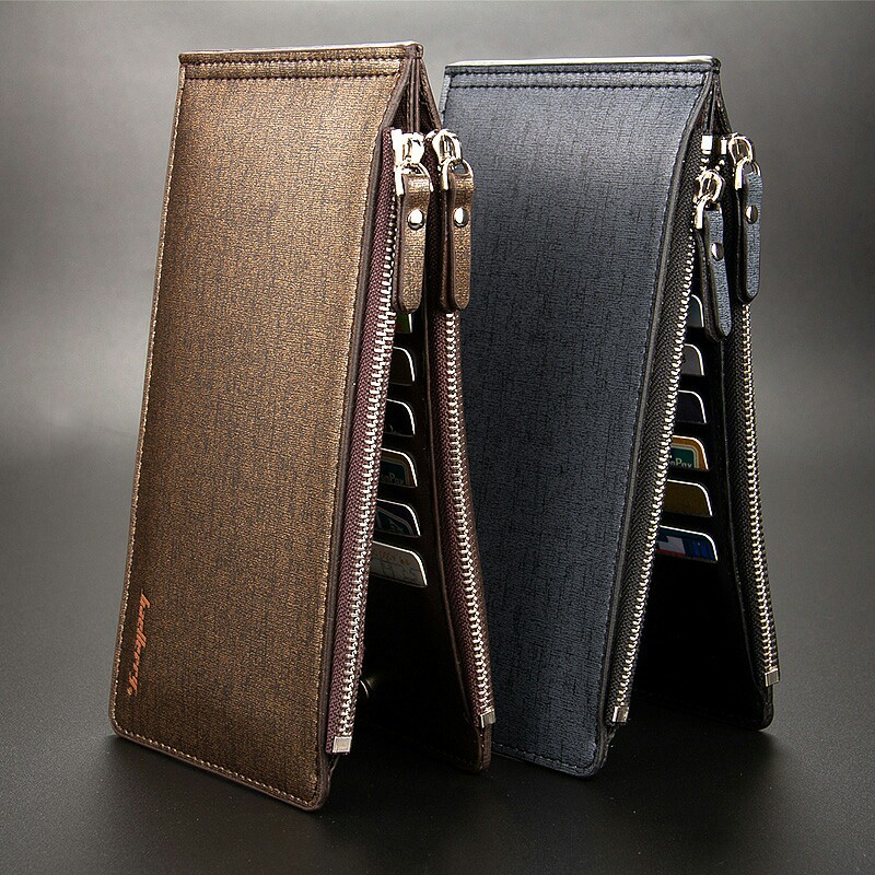 75bc150334cd US $7.9 50% OFF|2018 luxury men's slim wallets fashion designer credit card  holder wallet business famous brand women leather male clutch purse-in ...