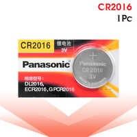 PANASONIC 1pc original cr2016 cr 2016 BR2016 DL2016 LM2016 KCR2016 ECR2016 3v taste batterie zelle batterie für uhren und spielzeug