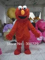 Export High Quality POLE STAR Quality Foam Head Costume Sesame Street Elmo Mascot Costume Character Elmo