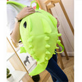 Hot selling Green monster Dragon Kids Baby Cartoon Waterproof School Bags 3D Animals Backpack For Girls Boys School Bags For Tee