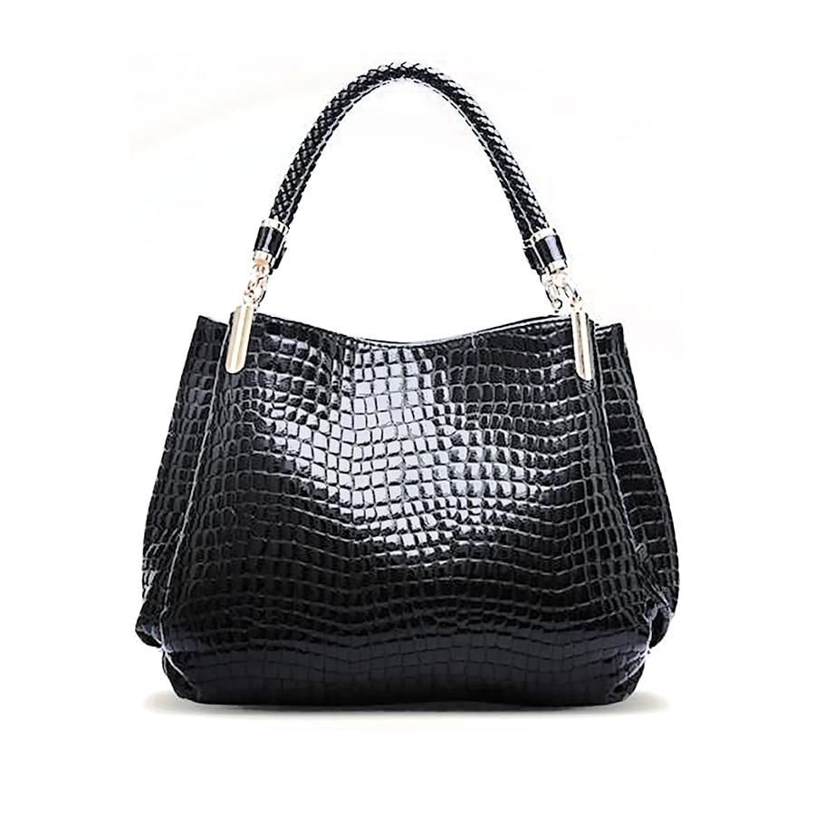 Hot Sale! Women Alligator Top Handle Bags Ladies Designer ...
