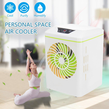 Air Circulator Cooler Air Conditioner USB Smart Cooling Fan Quiet Air Cooler Purifier Humidifier Personal Personal Space цена и фото