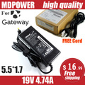 MDPOWER For Gateway 19V 4.74A 90W Laptop AC Adapter Charger Cord 5.5*1.7