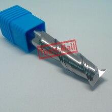 1pc 12mm D12 30 D12 75 HRC50 2 Flutes Milling cutters for Aluminum CNC Tools Solid