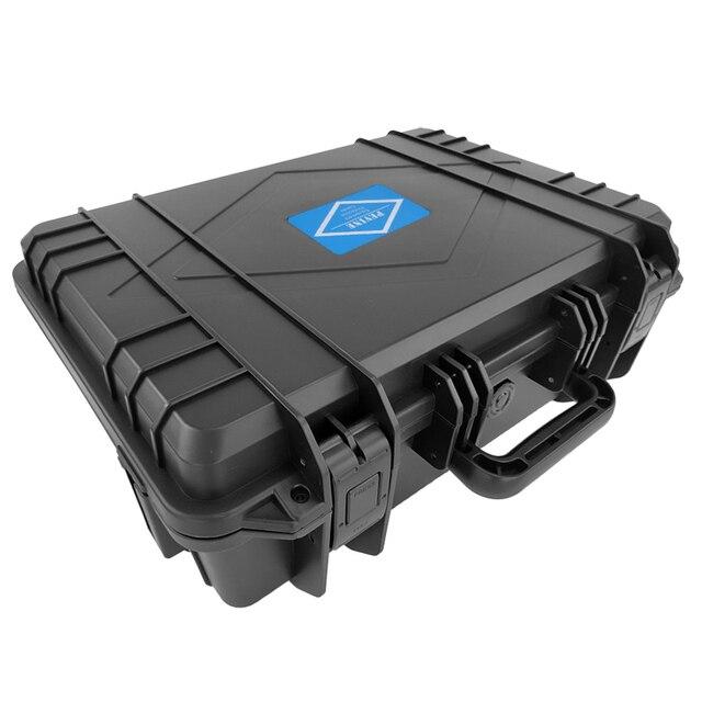 ABS Plastik Mühürlü Su Geçirmez Alet Kutusu Güvenlik Ekipmanları Araç Kutusu Bavul Darbeye Dayanıklı Alet Çantası Darbeye Dayanıklı Köpük