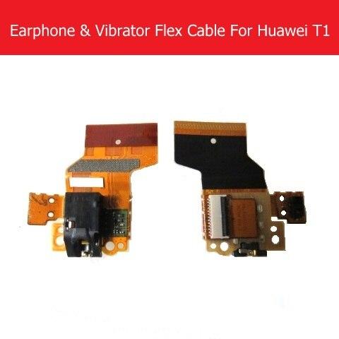 Genuine Audio jack Flex Cable For Huawei MediaPad T1-A21W T1-A21L 9.6 Proximity Sensor Flex cable Earpiece port flex cable